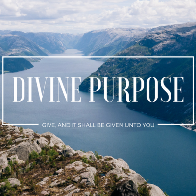 You are Here for a Divine Purpose