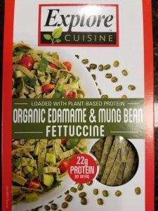 Edamame Mung Bean Fettuccine