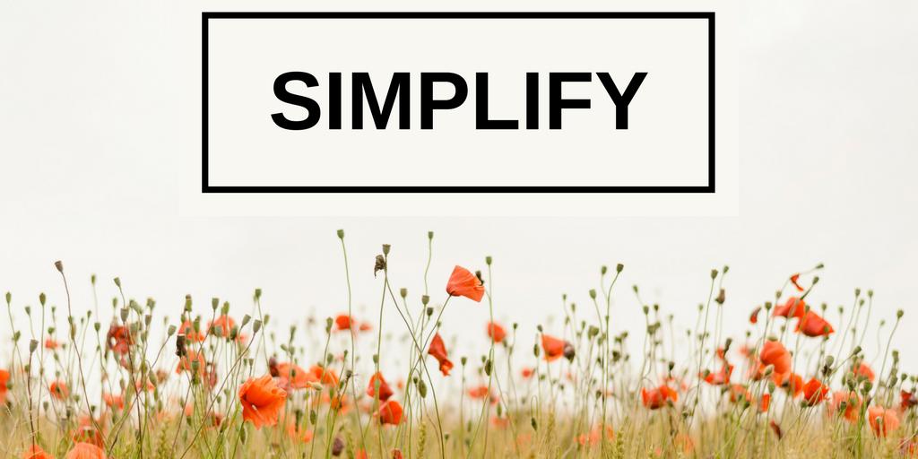 SIMPLIFY FLOWERS