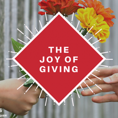 The Joy of Giving!