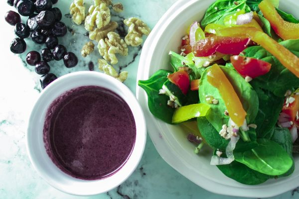 Zesty Blueberry Salad Dressing