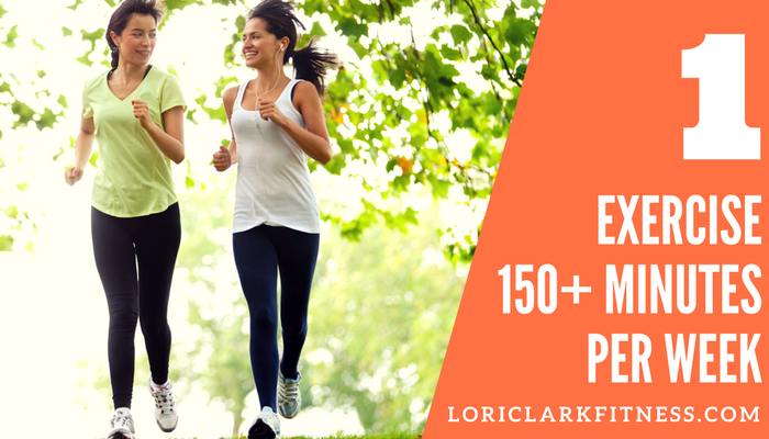 Exercise 150 Minutes A Week