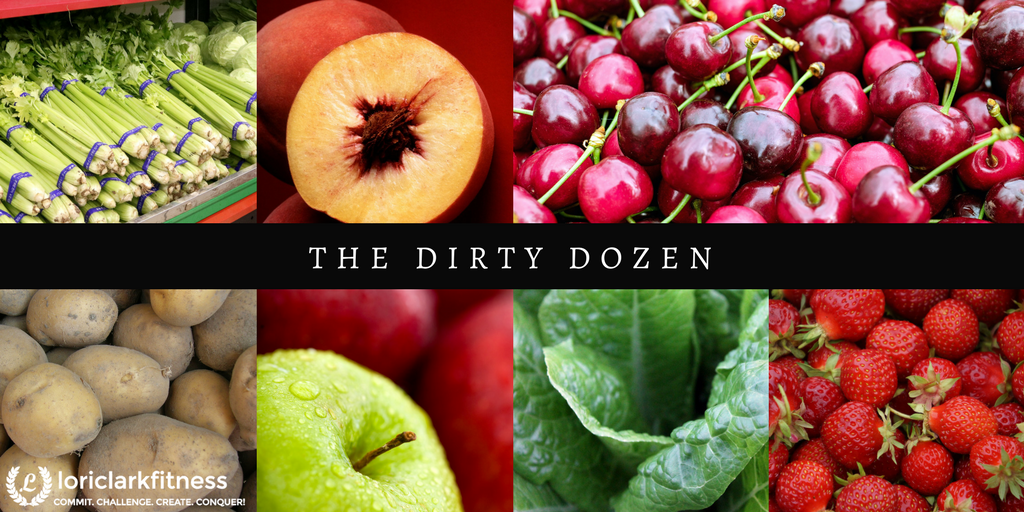 Dirty Dozen Organic Foods