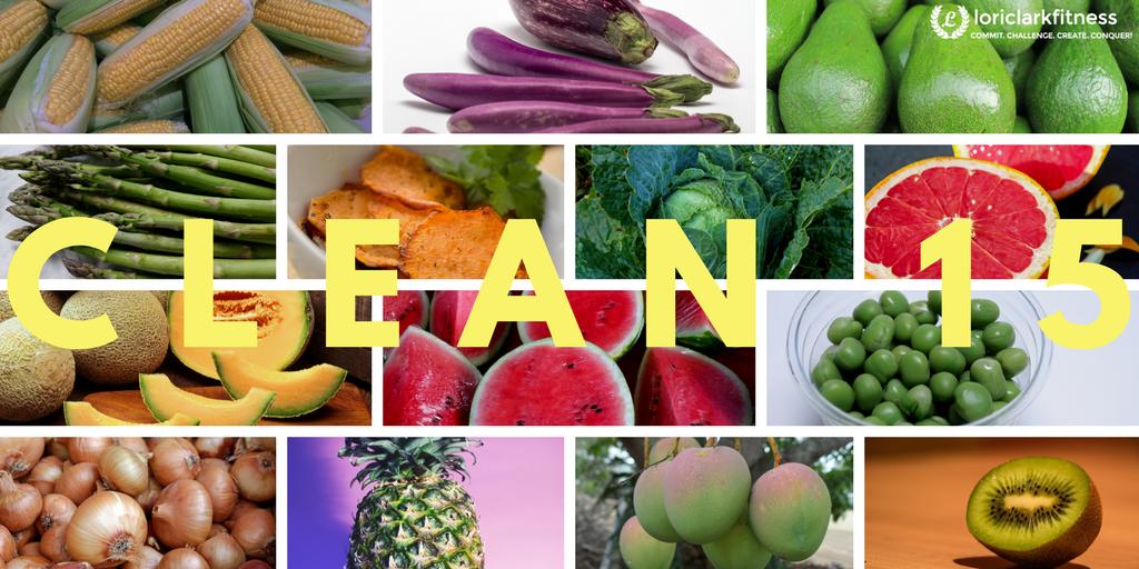 Clean 15 Organic Foods