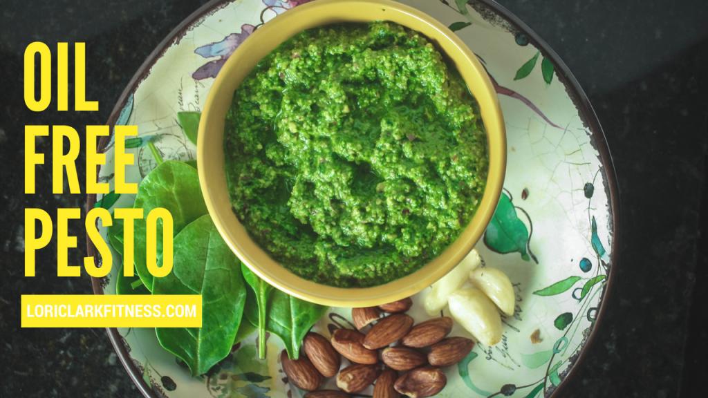 Oil Free Pesto
