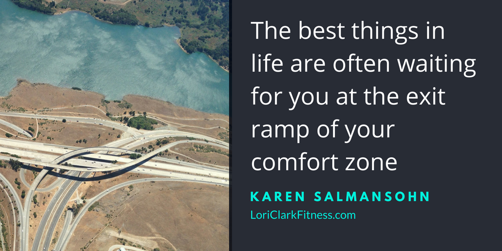 Exit Ramp of your Comfort Zone