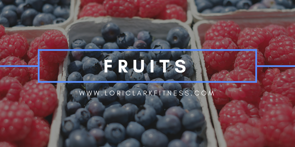 Five for Fiber: Fruits