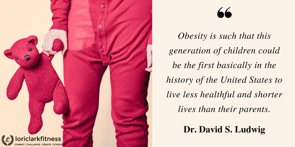 Live Stronger Longer Obesity Quote