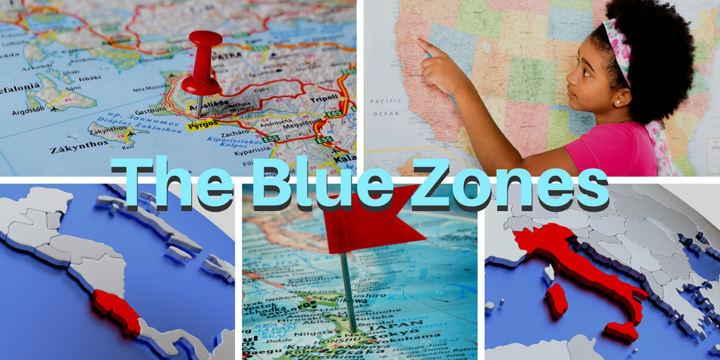 Live Stronger Longer Blue Zones