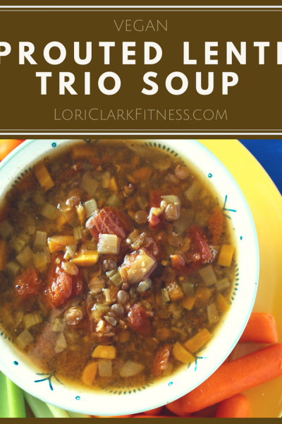 Sprouted Lentil Trio Soup Recipe