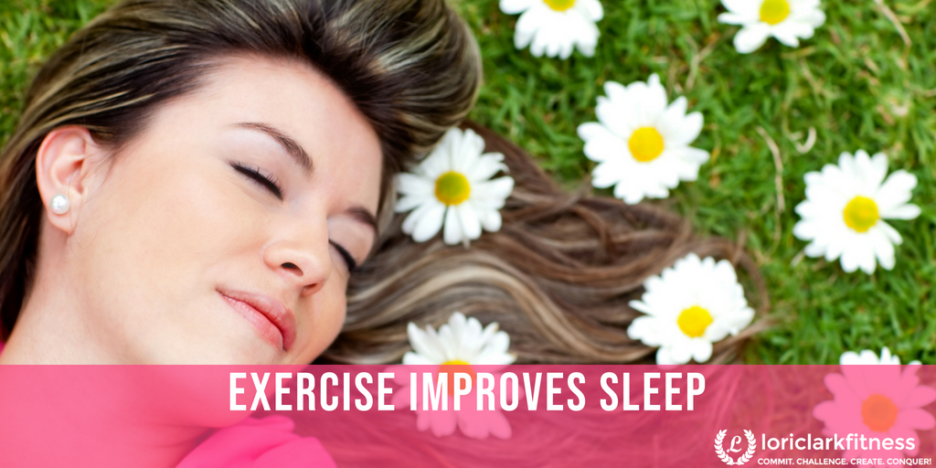 Exercise Improves Sleep