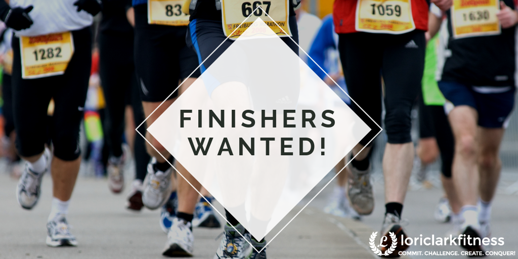 FINISHERS WANTED