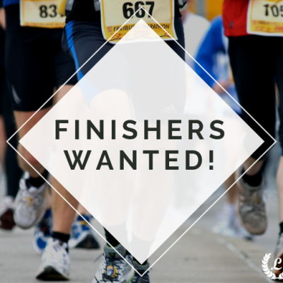 Finishers Wanted!