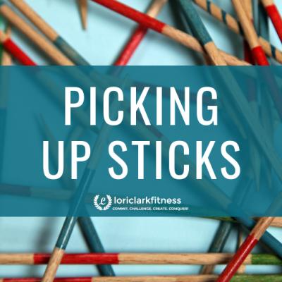 Picking Up Sticks!!