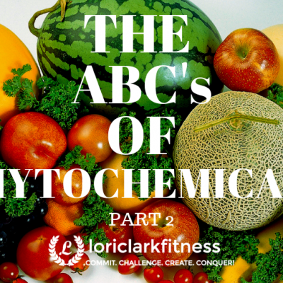 The ABC's of PHYTOCHEMICALS: Part 2