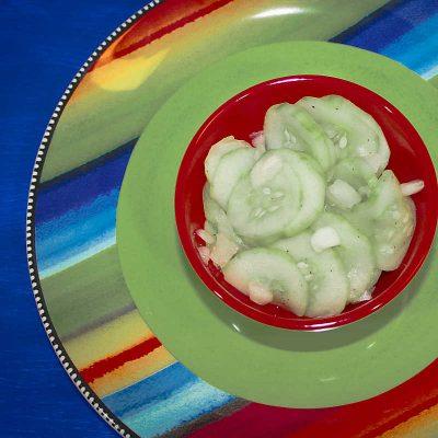 Vegan Cucumber Salad