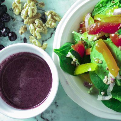 Zesty Blueberry Salad Dressing