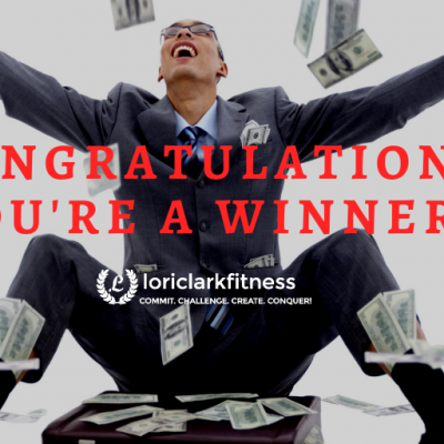Congratulations! You're A Winner!!