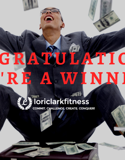 Congrats! You're A Winner!!
